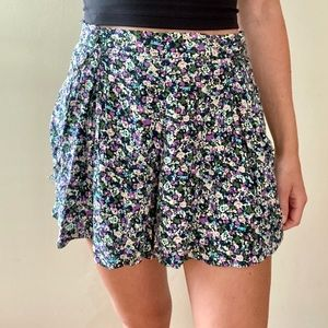 Urban Outfitters flowy floral shorts